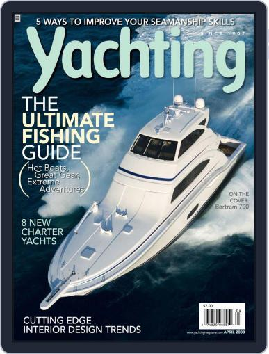 Yachting (Digital) March 19th, 2008 Issue Cover