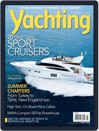 Yachting (Digital) February 29th, 2008 Issue Cover