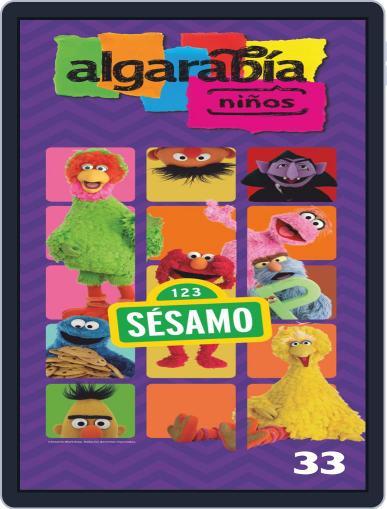 Algarabía Niños (Digital) July 4th, 2019 Issue Cover