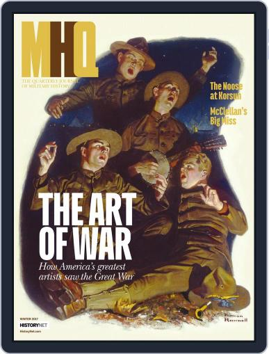 MHQ: The Quarterly Journal of Military History (Digital) October 1st, 2017 Issue Cover