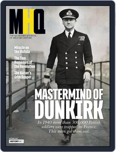 MHQ: The Quarterly Journal of Military History (Digital) July 10th, 2017 Issue Cover