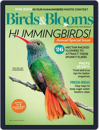Birds & Blooms (Digital) June 1st, 2020 Issue Cover