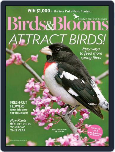 Birds & Blooms (Digital) April 1st, 2020 Issue Cover