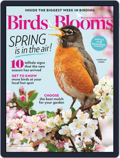 Birds & Blooms (Digital) February 1st, 2020 Issue Cover