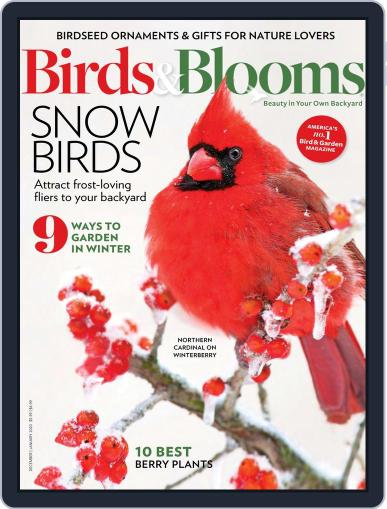 Birds & Blooms (Digital) December 1st, 2019 Issue Cover