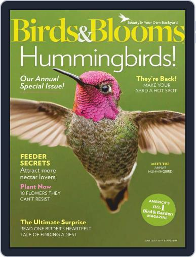 Birds & Blooms (Digital) June 1st, 2019 Issue Cover