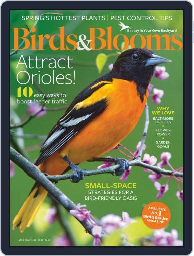 Birds & Blooms (Digital) April 1st, 2019 Issue Cover