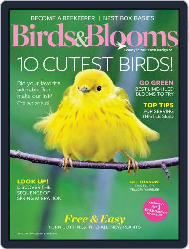 Birds & Blooms (Digital) February 1st, 2019 Issue Cover