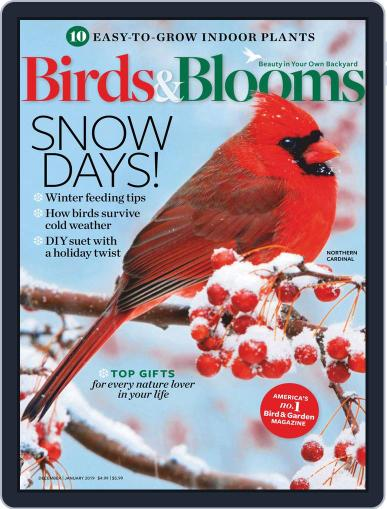 Birds & Blooms (Digital) December 1st, 2018 Issue Cover