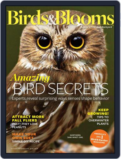 Birds & Blooms (Digital) October 1st, 2018 Issue Cover