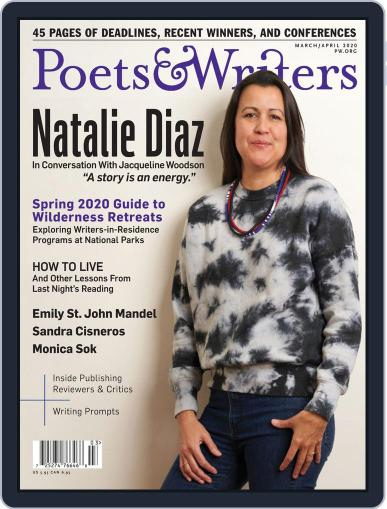 Poets & Writers (Digital) March 1st, 2020 Issue Cover