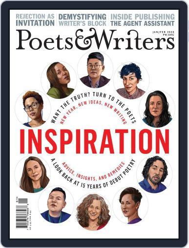 Poets & Writers (Digital) January 1st, 2020 Issue Cover