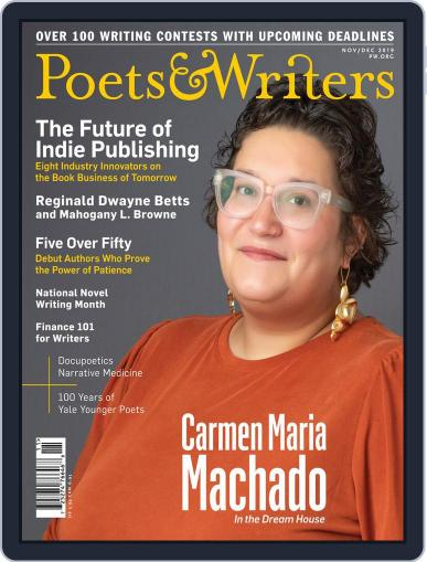 Poets & Writers (Digital) November 1st, 2019 Issue Cover