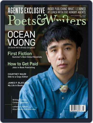 Poets & Writers (Digital) July 1st, 2019 Issue Cover