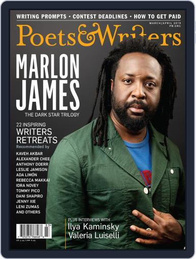 Poets & Writers (Digital) March 1st, 2019 Issue Cover