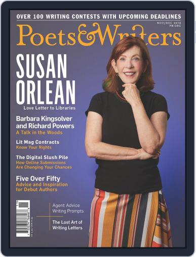 Poets & Writers (Digital) November 1st, 2018 Issue Cover