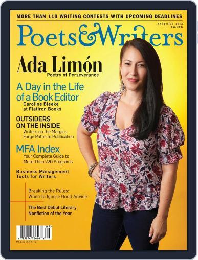 Poets & Writers (Digital) September 1st, 2018 Issue Cover