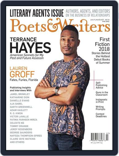 Poets & Writers (Digital) July 1st, 2018 Issue Cover