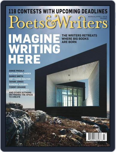 Poets & Writers (Digital) March 1st, 2018 Issue Cover