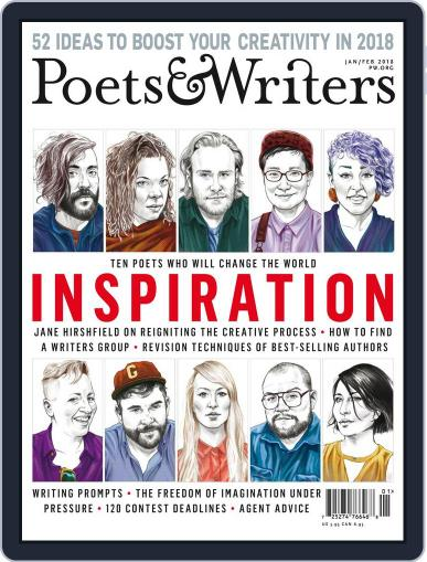 Poets & Writers (Digital) January 1st, 2018 Issue Cover