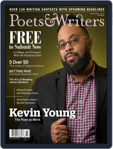 Poets & Writers (Digital) November 1st, 2017 Issue Cover