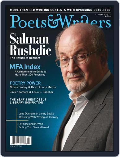 Poets & Writers (Digital) September 1st, 2017 Issue Cover