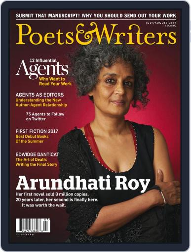 Poets & Writers (Digital) July 1st, 2017 Issue Cover