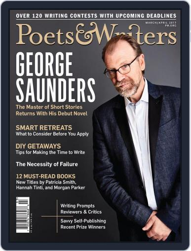 Poets & Writers (Digital) March 1st, 2017 Issue Cover