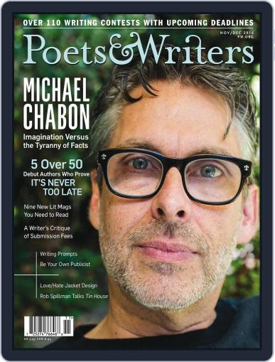 Poets & Writers (Digital) November 1st, 2016 Issue Cover