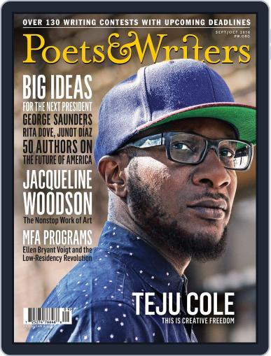 Poets & Writers (Digital) September 1st, 2016 Issue Cover