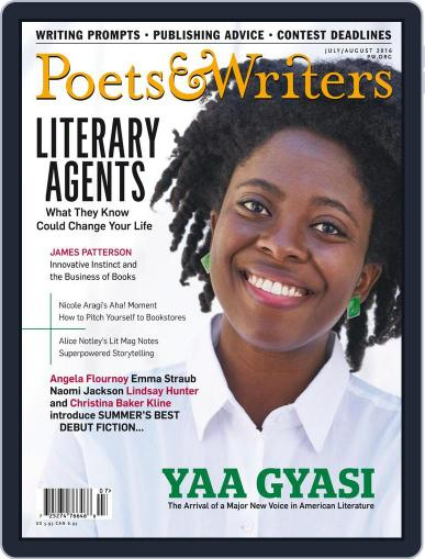 Poets & Writers (Digital) June 15th, 2016 Issue Cover