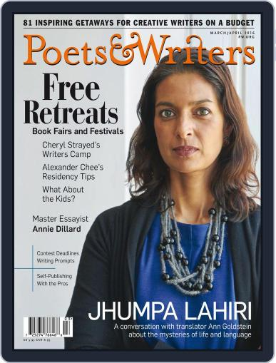 Poets & Writers (Digital) February 10th, 2016 Issue Cover