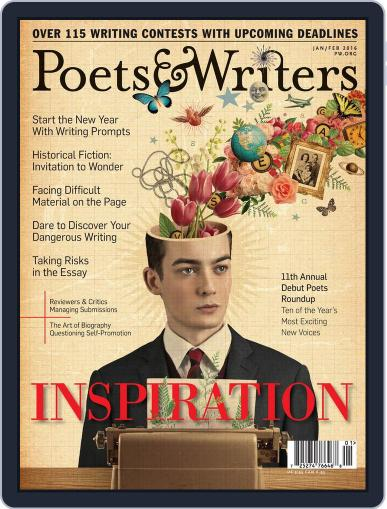 Poets & Writers (Digital) December 16th, 2015 Issue Cover
