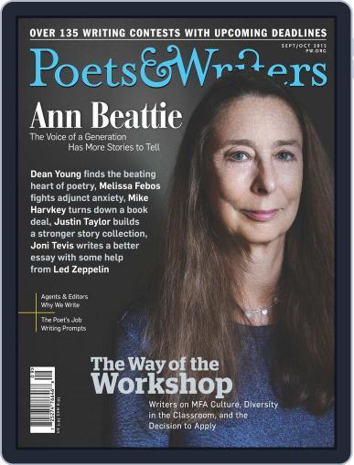 Poets & Writers (Digital) September 1st, 2015 Issue Cover