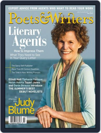 Poets & Writers (Digital) July 1st, 2015 Issue Cover