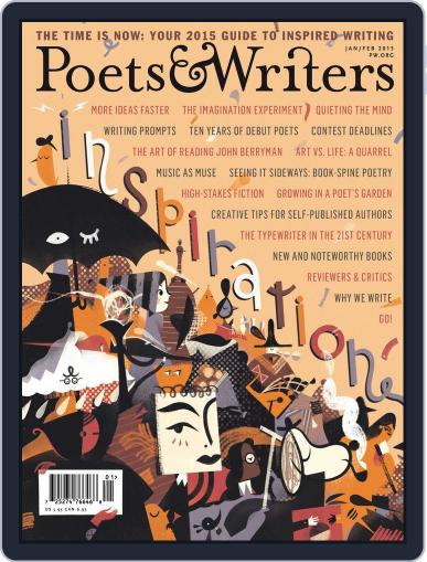 Poets & Writers (Digital) December 17th, 2014 Issue Cover