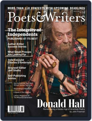 Poets & Writers (Digital) October 15th, 2014 Issue Cover