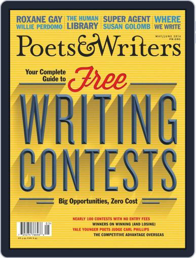 Poets & Writers (Digital) April 15th, 2014 Issue Cover