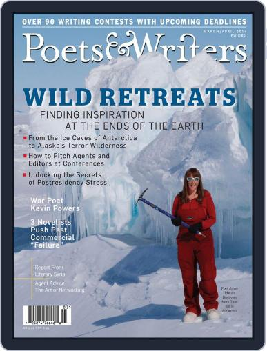 Poets & Writers (Digital) February 12th, 2014 Issue Cover