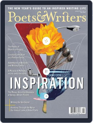 Poets & Writers (Digital) December 18th, 2013 Issue Cover