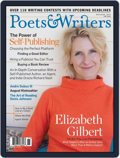 Poets & Writers (Digital) October 17th, 2013 Issue Cover