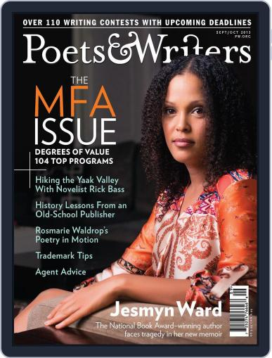 Poets & Writers (Digital) August 22nd, 2013 Issue Cover