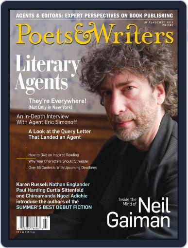 Poets & Writers (Digital) June 19th, 2013 Issue Cover