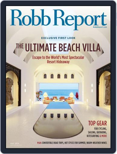 Robb Report (Digital) June 24th, 2016 Issue Cover