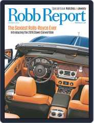 Robb Report (Digital) Subscription November 4th, 2015 Issue