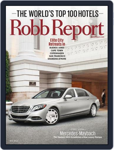 Robb Report (Digital) May 6th, 2015 Issue Cover
