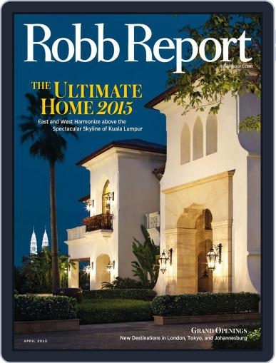 Robb Report (Digital) April 1st, 2015 Issue Cover
