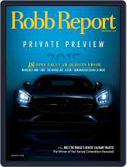 Robb Report (Digital) Subscription January 7th, 2015 Issue