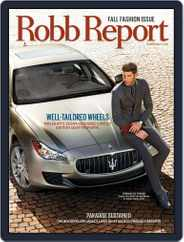 Robb Report (Digital) Subscription September 2nd, 2014 Issue