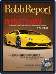 Robb Report (Digital) Subscription August 5th, 2014 Issue